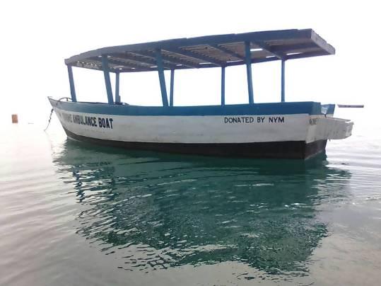 Ambulance Boat 2018 3